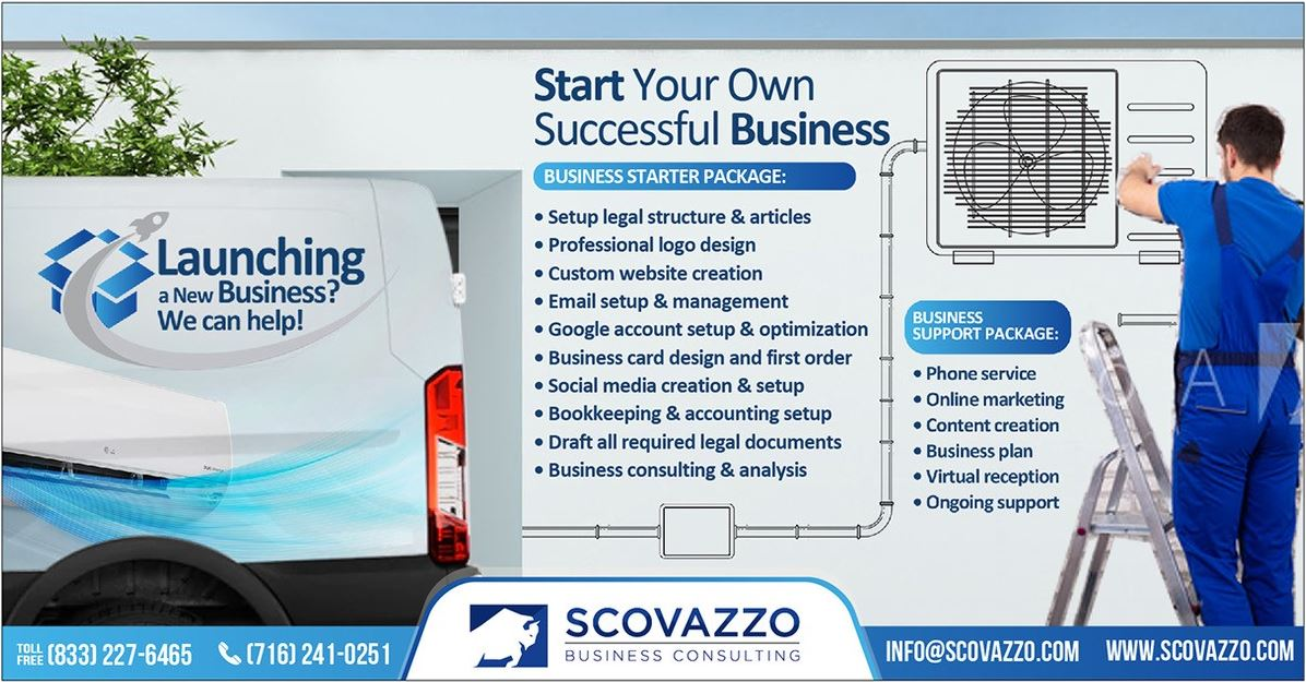 Business Startup Services Buffalo NY